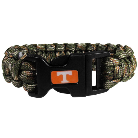 Survivor Bracelet - Tennessee Volunteers Camo Survivor Bracelet