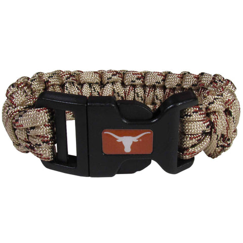 Survivor Bracelet - Texas Longhorns Camo Survivor Bracelet