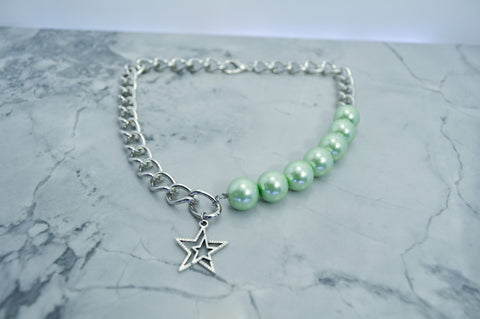 Green Star chain choker
