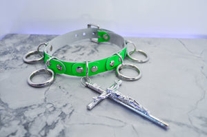 Neon Green Redemption collar