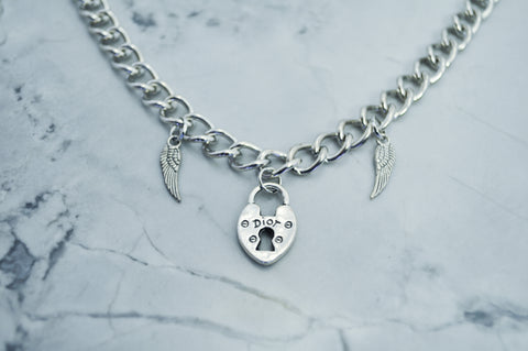 Miss Angel chain choker