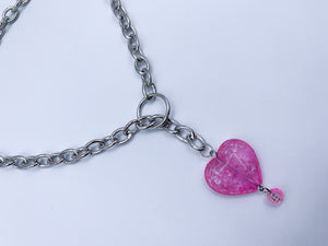 Pink Candy Crush necklace