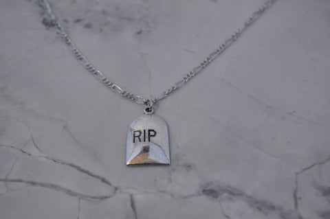 RIP necklace