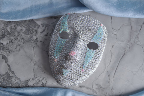 Pastel Diamond mask