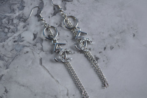 Diamond N°5 earrings