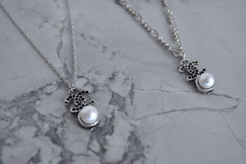 N°5 Pearl Chain necklace