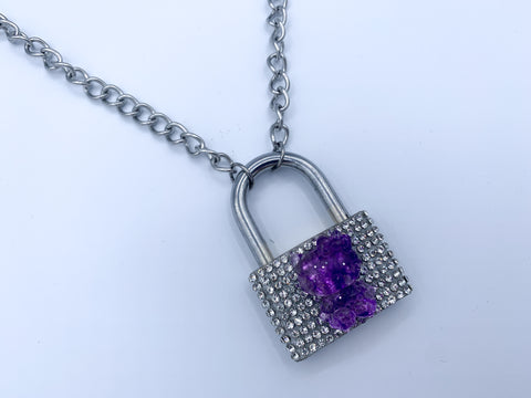 Kitty Lock necklace