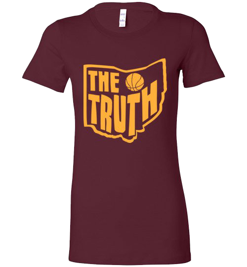 The Truth (Basketball) - Long Ladies Tee