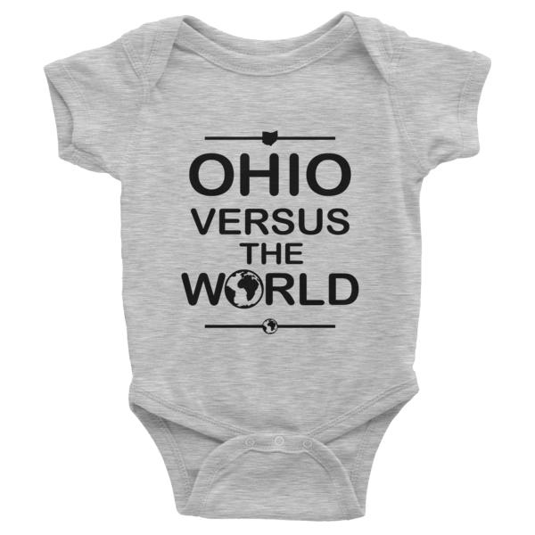 Ohio Versus The World Baby Onesie