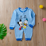 Baby Mickey and Friends Snap-Up Cotton Footless Sleep & Play