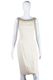 Sydney North Ivory Beaded Dress