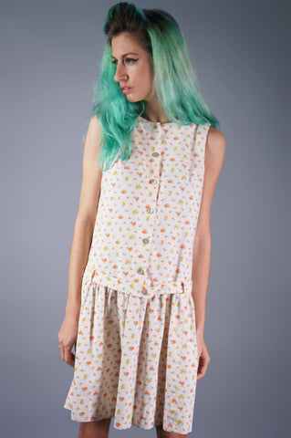 Joanna Nelson Floral Mini Dress
