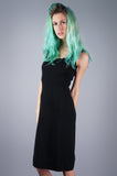 Minimalist Knit Dress - Embers / Cinders Vintage