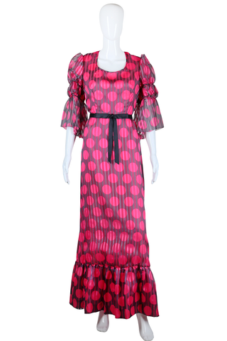 Polka Dot Sarmi Maxi Dress