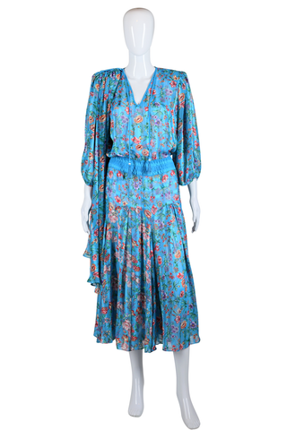 Diane Freis Dress and Scarf Set - Embers / Cinders Vintage