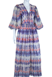 Bill Tice Tie Dye Maxi Dress