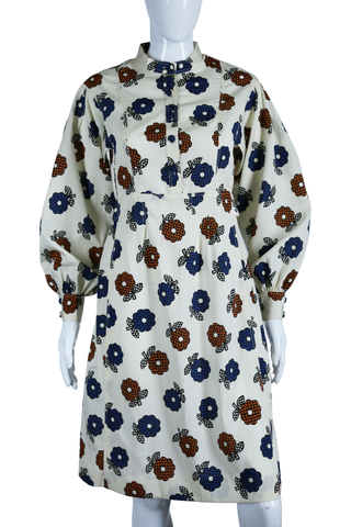 Dynasty Daisy Print Dress