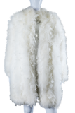 White Feather and Marabou Coat