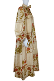 Jean Varon Accordion Pleat + Novelty Floral Print Dress