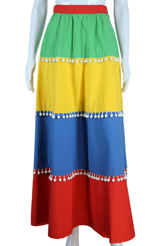 Circus Tent + Pom Pom Skirt by Nelly De Grab