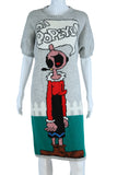 Oh Popeye! Novelty Sweater Dress