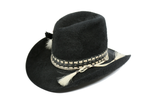 Feather Band Tall Stetson - Embers / Cinders Vintage