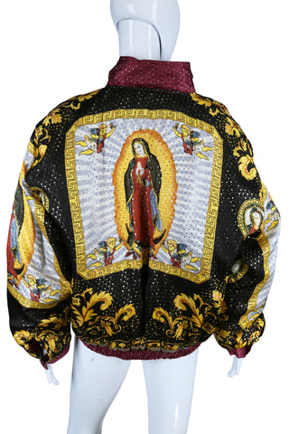 Virgin Mary Bomber Jacket