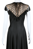 Lisa Meril Net and Tassel Dress