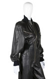 Michael Hoban Killer 80s Leather Jumpsuit - Embers / Cinders Vintage