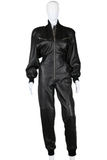 Michael Hoban Killer 80s Leather Jumpsuit