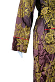 """Sarah"" Embroidered Floral Robe"
