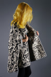 Tapestry Cape with Tassel Ties - Embers / Cinders Vintage