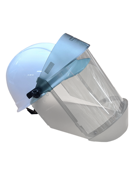 TCG Arc Flash Face Shield w/hard hat, (Cat 2, 12 cal)
