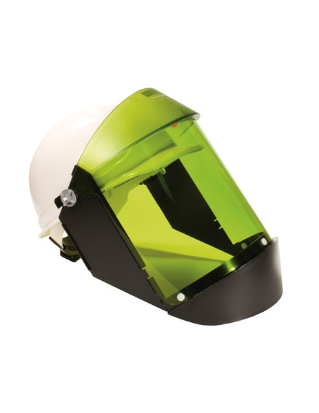Arc Flash Faceshield w/hard hat, (Cat 2, 12 cal)