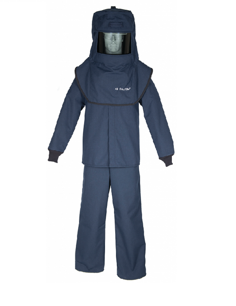 Arc Flash Suit LNS Series, (Cat 4, 40+cal), Size XL.