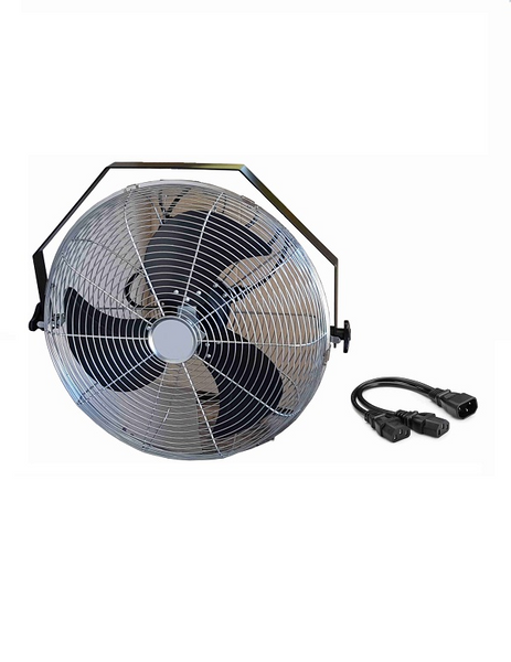 Fan Kit for Dock Lights, 3 speed fan, 450mm