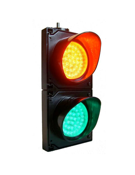 LED Traffic Light (100mm - 2 aspect 12-24V DC)