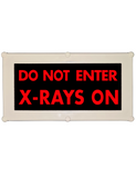 Backlit LED Warning Sign, Ceiling/Wall mount, 240VAC