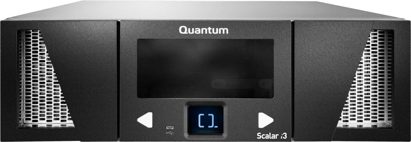Quantum Scalar i3 LTO-7 FC Tape Library 3U 50 licensed slots, one IBM LTO-7 Tape Drive Module, 8Gb Fibre Channel Part