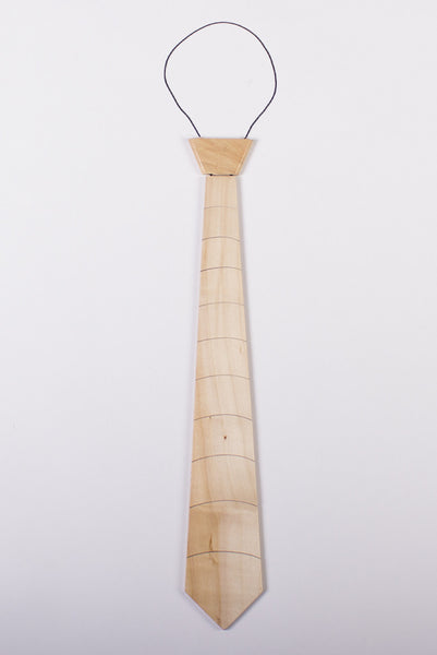 """Maple Solid"" Wooden Tie - Woodland Inspirations - 1"