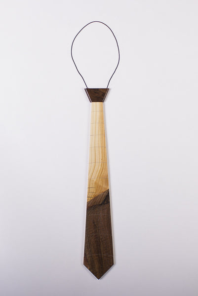 """Two-Faced"" Hardwood Necktie - Woodland Inspirations - 3"