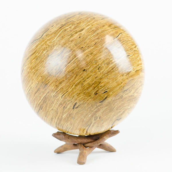 Solid Glulam Hardwood Decorative Sphere - Woodland Inspirations - 3