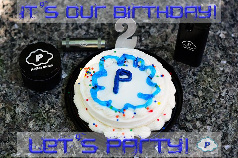Puffer Cloud The Online Smoke Shop Turns Two Years Old!