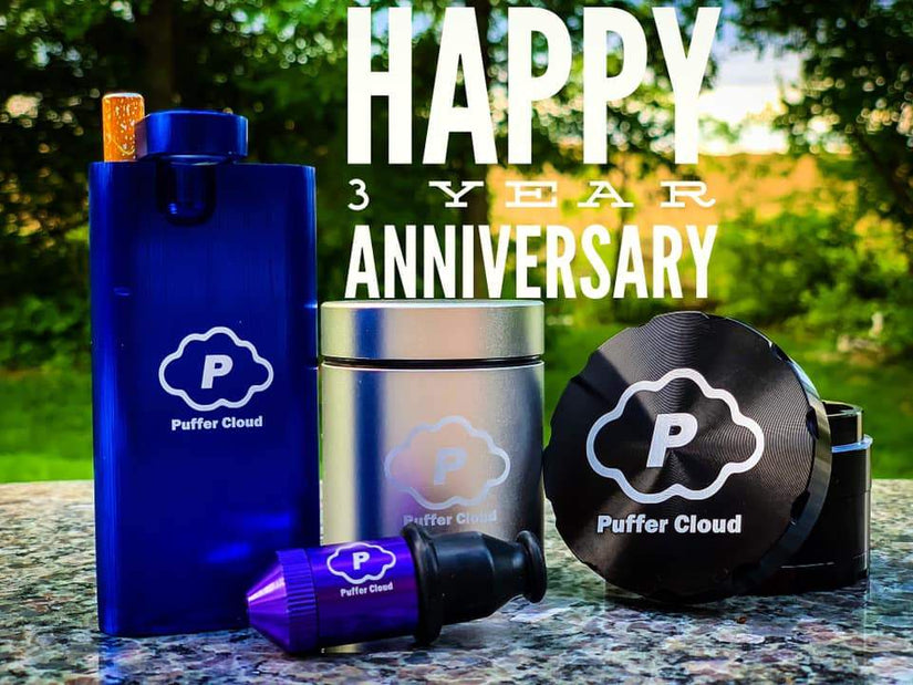 Puffer Cloud's 3 Year Anniversary!