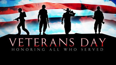 Veterans Day Discount - Honoring All Who Served