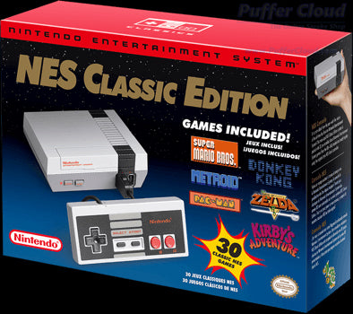 Nintendo NES Classic Edition - www.PufferCloud.com The Online Smoke Shop