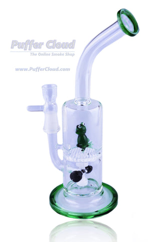 "10"" Frogger Water Pipe - Puffer Cloud 