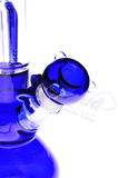 "3 Arm Tree Perc Beaker Water Pipe w/ Ice Catcher - 12"" - Puffer Cloud 