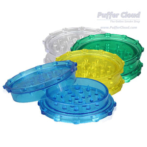 "2pc Plastic Grinder - 3"" - Puffer Cloud 