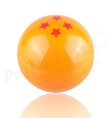 Dragonball Z Dragonball Grinder - 3pc - Puffer Cloud | The Online Smoke Shop